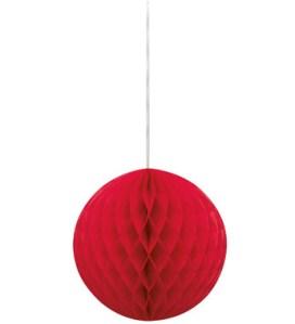 Ruby-Red-Honeycomb-Ball
